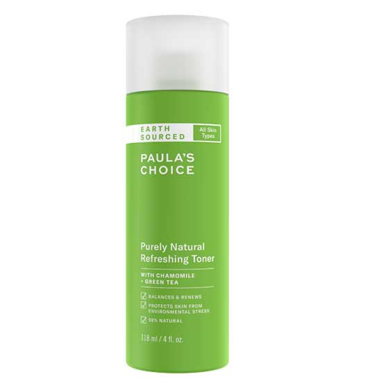 EARTH SOURCED Purely Natural Refreshing Toner